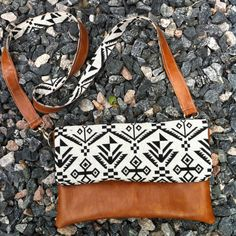 The Mateo Crossbody by VintageAutumn on Etsy tribal fold over clutch