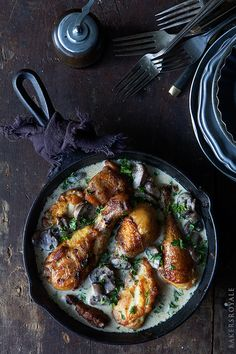 Coq au Riesling via Bakers Royale