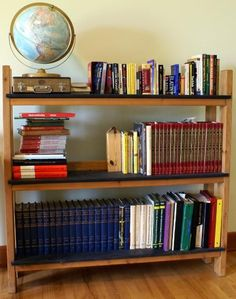 No sagging allowed bookshelves