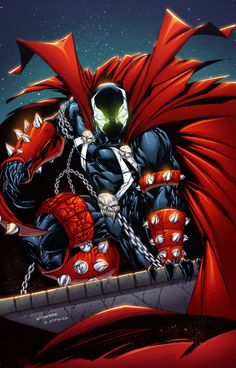 #Spawn #Fan #Art. (Spawn) By: AlonsoEspinoza.