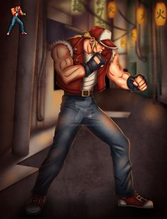 Terry Bogard - King Of Fighters '96 by gabrielps