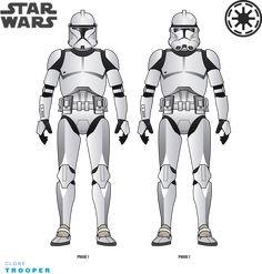 Star Wars Characters, Star Wars Episodes, Star Wars Commando, Guerra Dos Clones, Clone Trooper Helmet, Star Troopers, Arte Nerd, Star Wars Facts, Star Wars Drawings