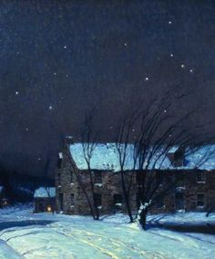 George Sotter (1879-1953), Silent Night (detail), ca. 1923