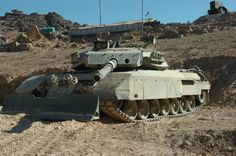 Leopard tankdozer with Mexas Royal Canadian Navy, Canadian Army, Tank Armor, Afghanistan War, Battle Tank, Military Equipment, Modern Warfare, Armored Vehicles, Armed Forces