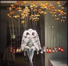 Visual merchandising.
