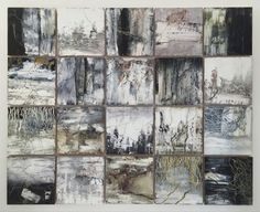 mixed media on 20 16x16 panels<br /> available Gallery903 <br /> www.gallery903.com<br /> <br /> ©All rights reserved. Original Painting