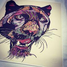 Luke Dixon // JAG // LIMITED EDITION PRINT #thebearhug #LukeDixon