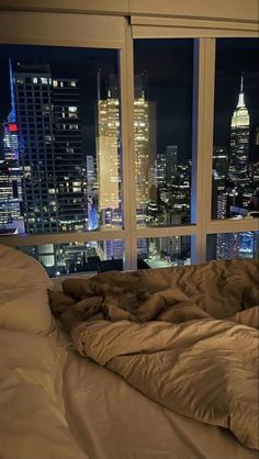 Night Aesthetic, City Aesthetic, Aesthetic Bedroom, Travel Aesthetic, City View Apartment, Dream Apartment, New York Life, Nyc Life, City Life