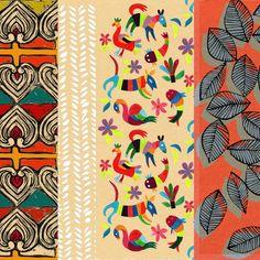 Stéphanie Ledoux - Carnets de voyage - patterns