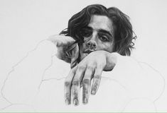 Image result for timothee chalamet pencil drawing