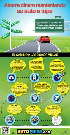 Cómo ahorrar combustible al darle mantenimiento a tu vehículo, de Autoplaza.com, publicado por Hispanic Media