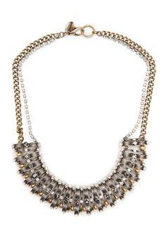 MANGO - TOUCH - Crystal embellished necklace