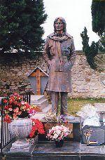 Claude François, cimetière de Dannemois