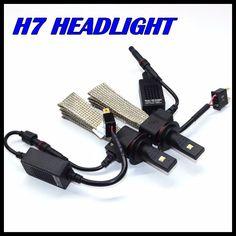 New Invention Car H7 H11 Headlight 40W 5000LM LED Headlamp H7 Led Car head light lamp bulb 12V 24V auto parking led light H7