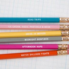 Kate Spade Pencils
