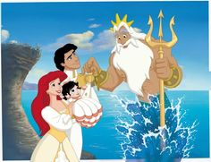 Disney Movies ᴴᴰ - The Little Mermaid 2 Movies For Kids - Animation Movies Disney Magic, Disney Amor, Arte Disney, Melody Little Mermaid, Little Mermaid Movies, Disney Little Mermaids, Disney Girls, Disney Family, Princesa Ariel Disney