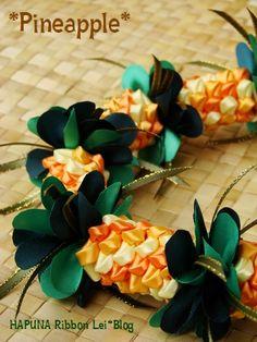 Pineapple:HAPUNA Ribbon Lei*Blog:So-netブログ