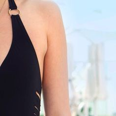Spring is taking a corner to #summer and we are about hitting #swimwear season. Swimwear with hardware used in a subtle way is something we are seeing pop poolside or on the beach. See the full image as a banner. #bikini #swimsuit #pool #style #beach #beachwear #la #seattle #fashion #bikini #beachbody #beachlife