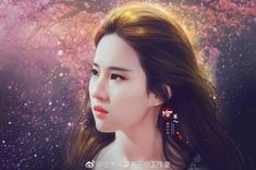 Cute Girl Wallpaper, Art Girl, Cute Girls, Avatar, Idol, Fan Art, Film, Crystals, Chinese