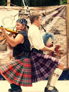 """Wild Eyed Southern Celt's.  I think it would be hard to get enough air to blow the bagpipe.... """"in this position!""""  LOL"""