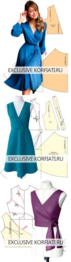 CostModa | Modelagem e Costura | Шитье | Постила Dress Sewing Patterns, Blouse Patterns, Sewing Patterns Free, Clothing Patterns, Zerschnittene Shirts, Cut Up Shirts, Band Shirts, Sewing Clothes, Diy Clothes