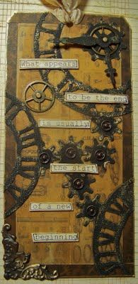 ten thirty-six arts and crafts ... ellen vargo: Simon Says Stamp and Show - Steampunk!