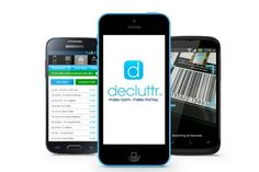 Decluttr app for iOS