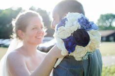 DIY Fabric Flowers | Thrifty Below // Photo by Kat/Eye Studios