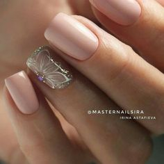 latest nail design ideas & trend 2019 – page 24 Hot Nails, Nude Nails, Hair And Nails, Perfect Nails, Gorgeous Nails, Pretty Nails, Latest Nail Designs, Nail Art Designs, Manicure E Pedicure