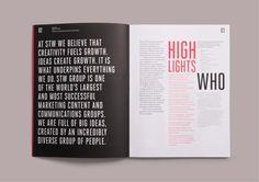 Best Awards - Designworks Sydney. / STW Group Annual Report