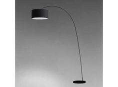PAPUA Lámpara de pie negro