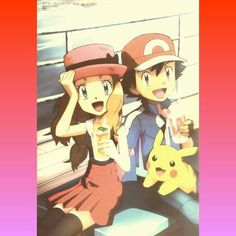 Amourshipping ^.^ ♡ I give good credit to whoever made this