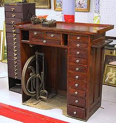Tools workbench on pinterest workbenches work benches and benches Watchmakers bench