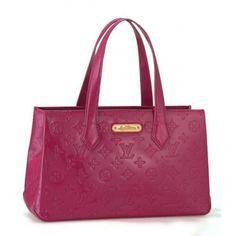 Louis Vuitton Handbag Wilshire PM M93644 DarkPink #bags #fashion