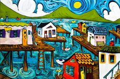 Keep Calm Collection - Docktown by Ben Mann Poster Print (http://www.keepcalmcollection.com/docktown-by-ben-mann-poster-print/)