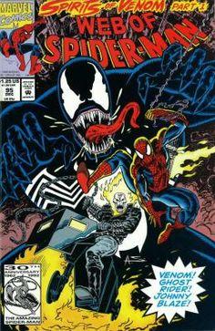 Web of Spider-Man #95 Howard Mackie Alex Saviuk ---> shipping is $0.01 !!!