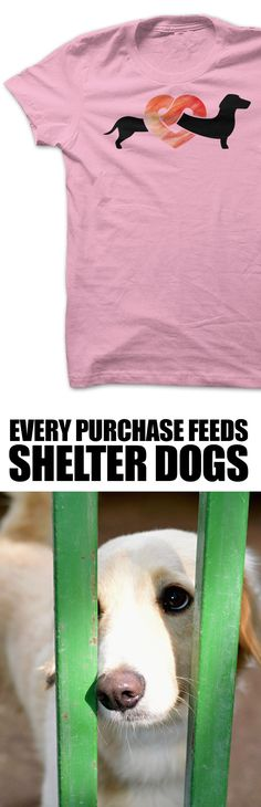 Every dachshund owner needs this!! Love that every purchase feeds shelter pups.  http://iheartdogs.com/product/dachshund-forever/?utm_source=PinterestAd_DachshundForever&utm_medium=link&utm_campaign=PinterestAd_DachshundForever