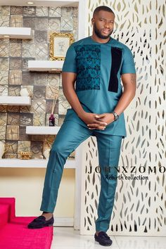 Menswear brand Johnxzomo has released its lookbook for its collection Rebirth featuring ex Mr. Nigeria and Nollywood actor Emmanuel Ikubese.