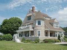 Oceanfront Victorian Cottage with Private Beach in Kennebunkport, ME