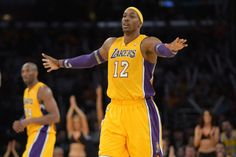 Dwight Howard had another monster game -- his fourth straight -- in leading the Lakers to a win over the Bucks on Tuesday. The team goes as he goes. Monster Games, Dwight Howard, Sports Betting, Sports News, Nba, Basketball, Husband, Shit Happens, People