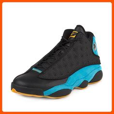 "Nike Mens Air Jordan 13 Retro CP PE ""Chris Paul"" Black/Sunstone-Orion Blue Leather Size 10.5 - Our favorite sneakers (*Amazon Partner-Link)"