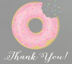 free printable donut thank gift tags