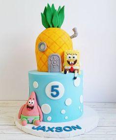 Spongebob cake! #spongebob #spongebobcake #cakestagram #yxe