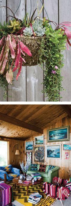 chandelier surf shack.