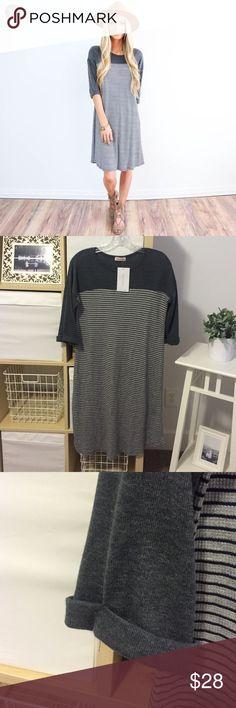 30% OFF BUNDLES🎉Striped Dress So cozy! Never been worn😊 Dresses