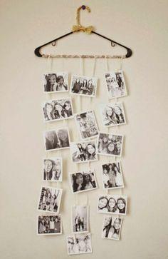 a cute DIY photo collage that my friend made for my birthday (: - DIY Deko Diy Photo, Photo Ideas, Picture Ideas, Photo Art, Decoration Photo, Blog Deco, Diy Birthday, Birthday Haul, Birthday Presents
