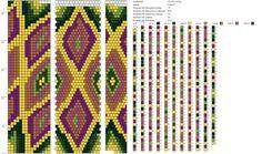 15 around tubular bead crochet rope pattern Bead Crochet Patterns, Bead Crochet Rope, Loom Patterns, Beading Patterns, Beaded Jewelry, Beaded Bracelets, Tapestry Crochet, Wooden Dolls, Brick Stitch
