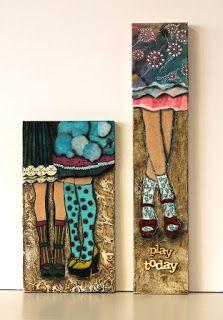 os muestro a continuacin los trabajos realizados por diferentes grupos en mi taller son cuadros