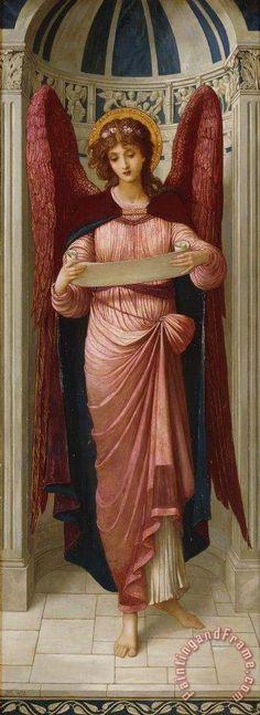 Angels Painting by John Melhuish Strudwick