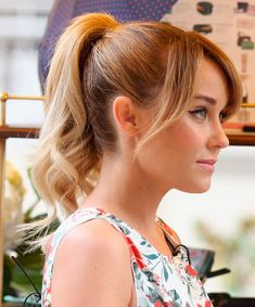 10 Ideias de penteados: Lauren Conrad - Fashionismo
